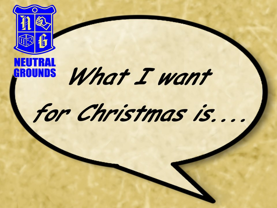 What I want for Christmas Promo!